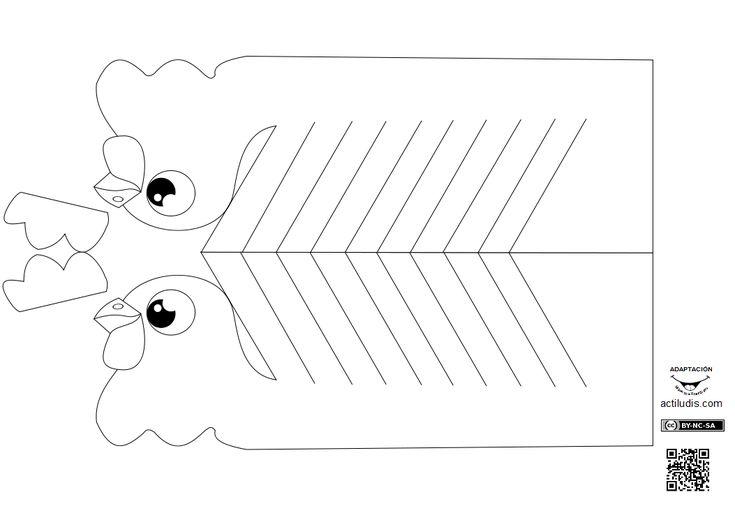 """Esta manualidad es una adaptación de la encontrada en el blog ruso """"Ctpana Mactepob"""" dedicada a artesanía en todas sus formas y al medio ambiente. Puedes encontrar más imágenes sobre el montaje de estas aves así como encontrar más manualidades similares y adquirir el libro de manualidades en el artículo …"""