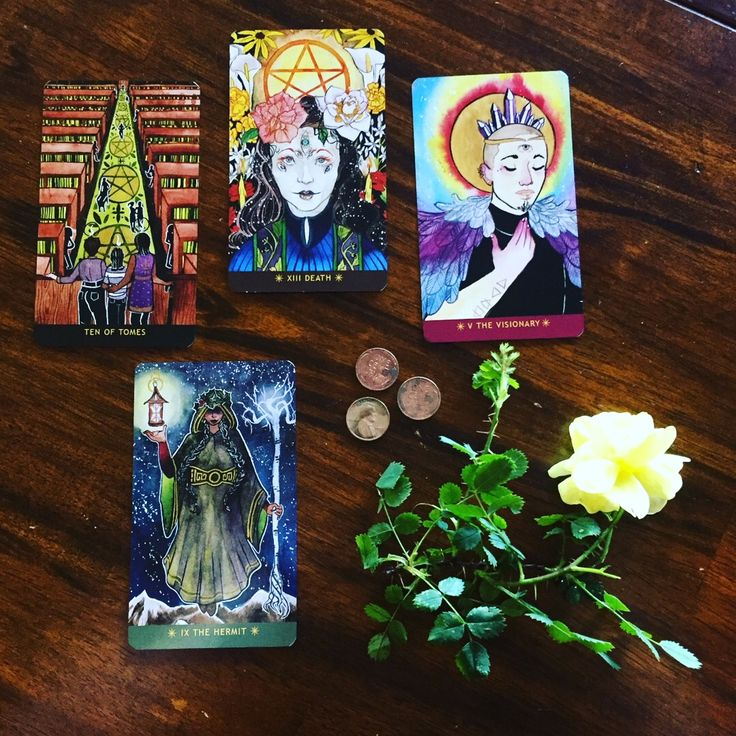 A dance with the dead ancestor work with tarot cards
