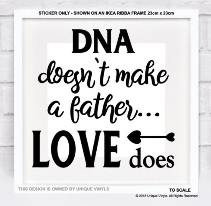 Grandad Decal vinyl sticker Ikea Ribba Box Frame Fathers Day Gift