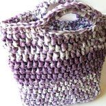 Borsa ECO-BAG, fatta a mano crochet uncinetto - spese spedizione GRATIS