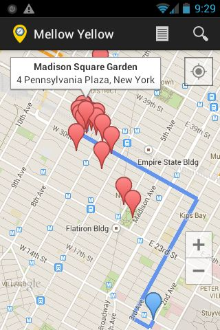 Mellow Yellow Maps is a location-based application that provides detailed information about geographical regions all around the world. It employs Google or MapQuest maps and location services to find businesses, both locally and abroad. With its intuitive interface, it is easy to retrieve information on a particular business. Searches can be done either by category or on a name basis. It uses the device's built-in GPS to precisely pinpoint the device's location in the world. There are many…