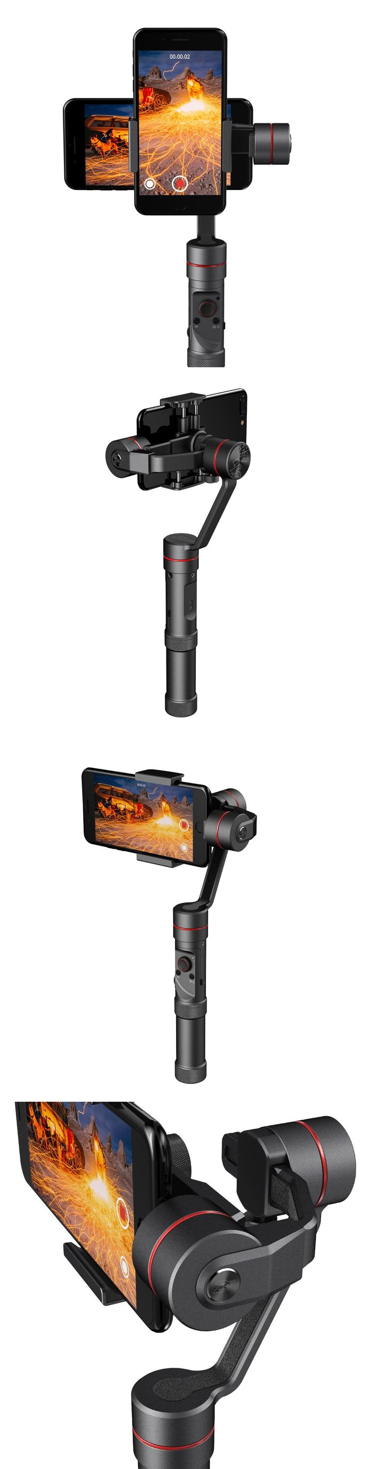 Newest Zhiyun Smooth - III 3 Handheld Gimbal Stabilizer for Smartphones Gopro Action cameras Support 260g