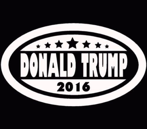 Donald Trump for President Make America Great Again Trump White V3