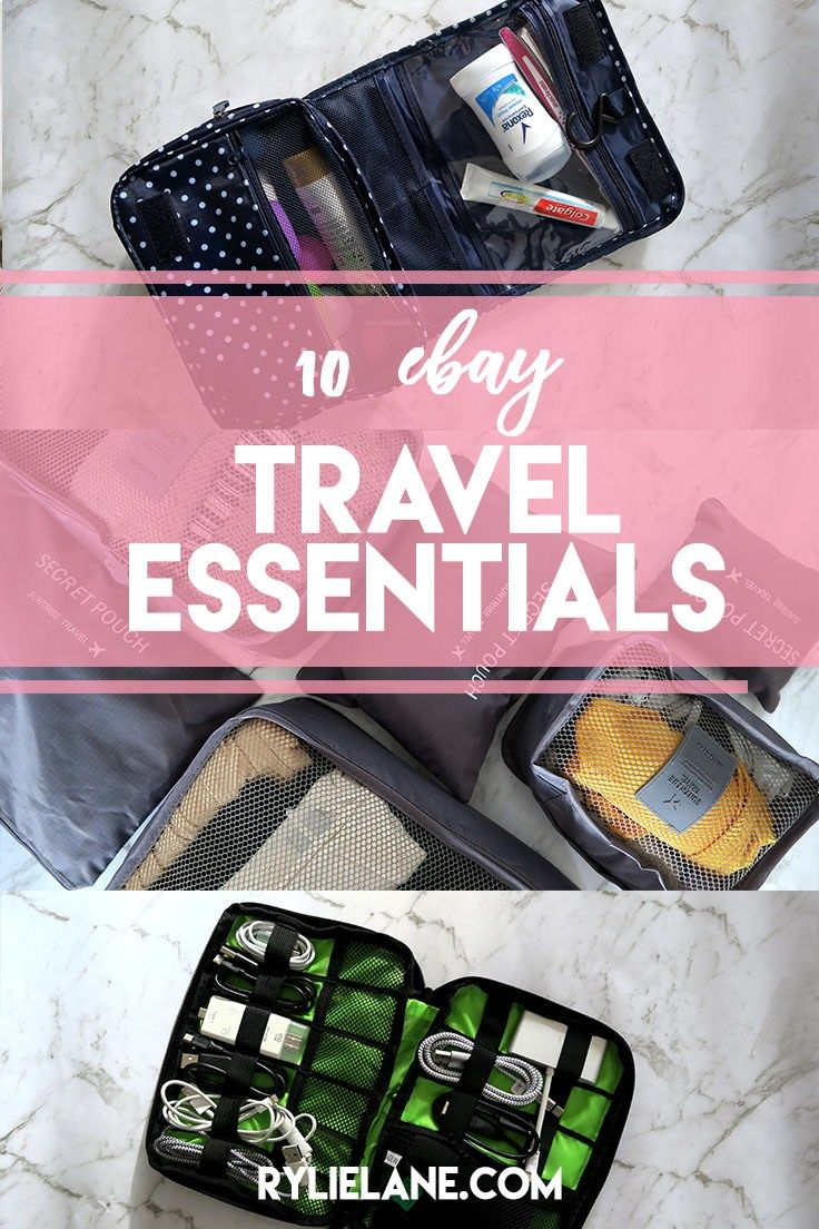 10 eBay Travel Essentials to Save Space and Money! | Rylie Lane
