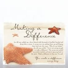 making a difference starfish story Quotes