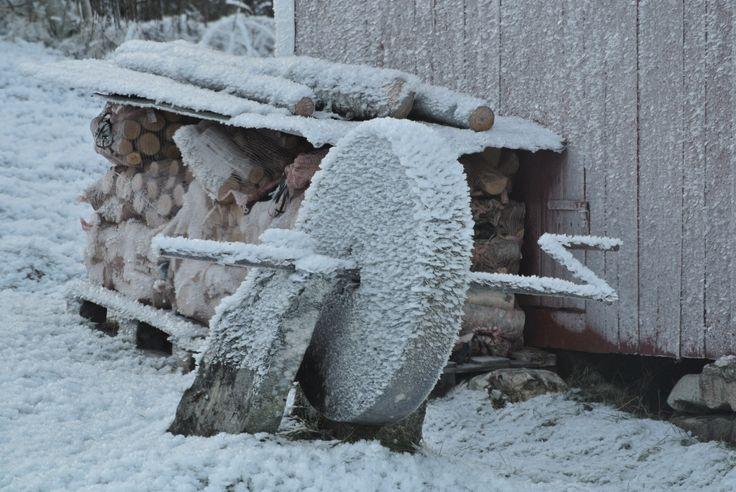 Den gamle slipsteinen - the old grindstone