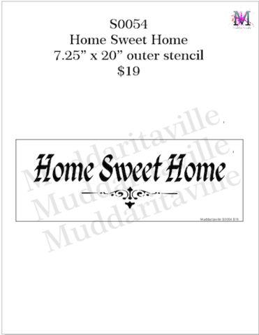 S0054 Home Sweet Home – Muddaritaville Studio