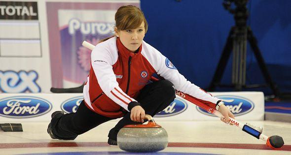 Canada's curler Kaitlyn Lawes