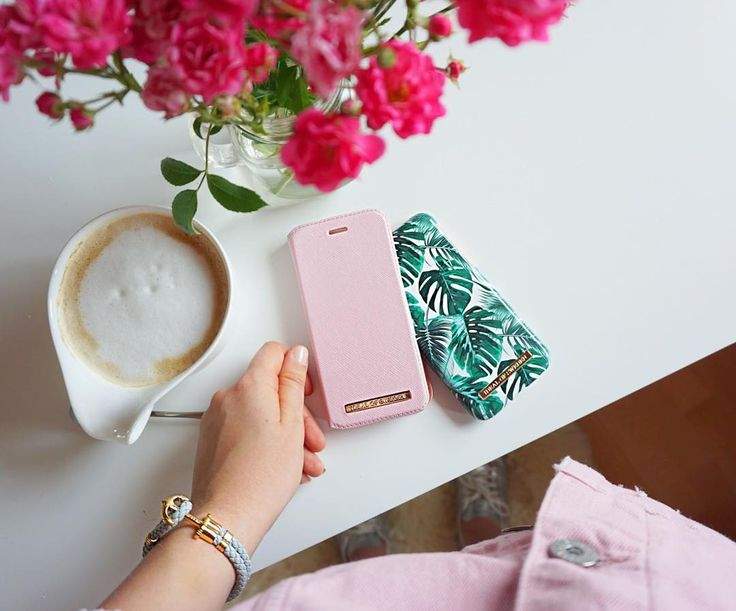 Monstera Jungle by lovely @madefuss - Fashion case phone cases iphone inspiration iDeal of Sweden #green #leaf #palm #tropical #gold #fashion #inspo #iphone