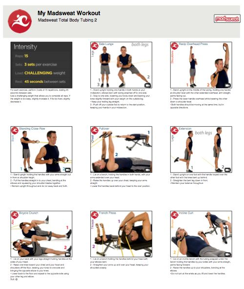 The Official Blog Of MadSweat • Weekend Workout: Madsweat