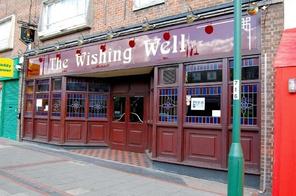 The Wishing Well Pub  in Borehamwood...good place to spot stars of EastEnders!