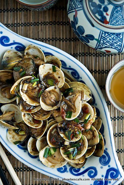 중국식 매운 조개 볶음 레시피, 중국 요리,