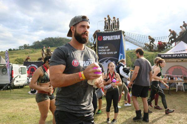 Spartan Race post True Protein Drink