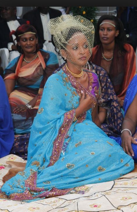 Princess Ruth Komuntale of Toro/Uganda on her wedding day