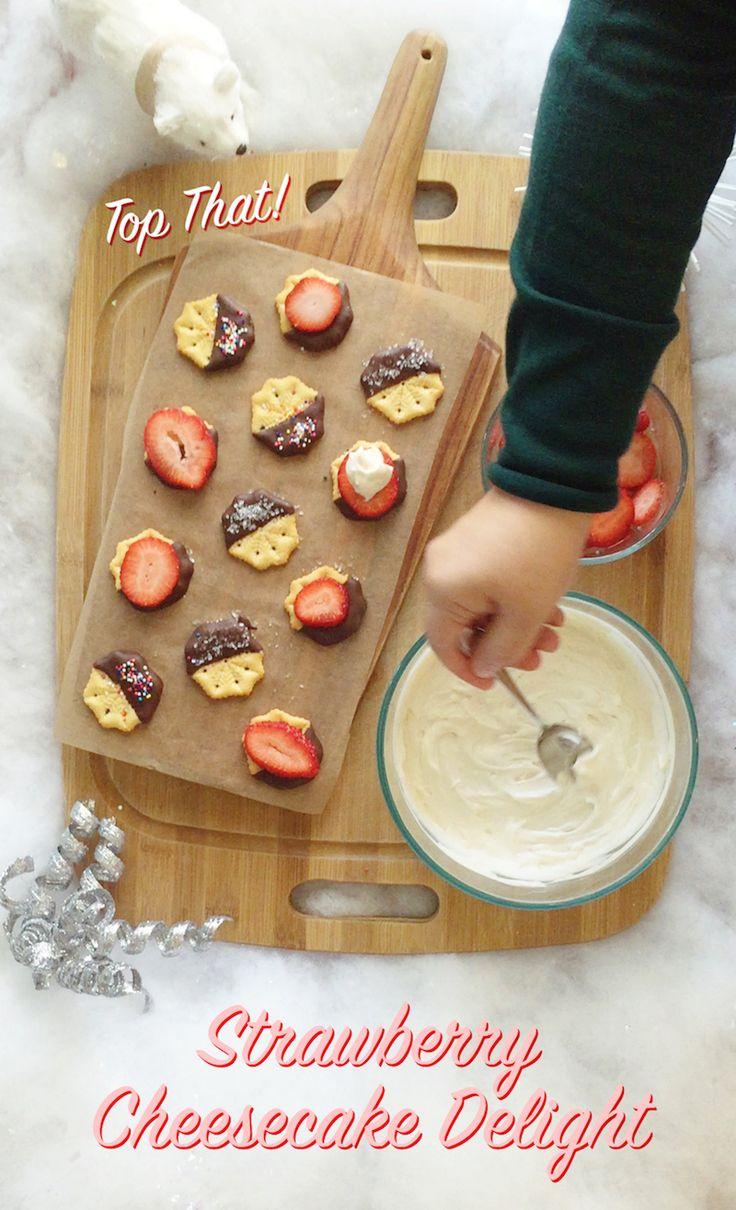 Strawberry Cheesecake Delight recipe
