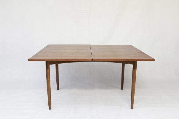 Vintage Scandinavian Extendable Teak Dining Table 6 Dining Table Teak Dining Table Table