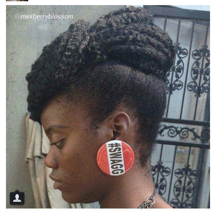 Peachy 1000 Ideas About Marley Hair Bun On Pinterest Marley Hair Short Hairstyles For Black Women Fulllsitofus
