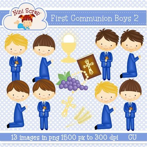 First Communion Boys clipart https://www.facebook.com/niniscraps