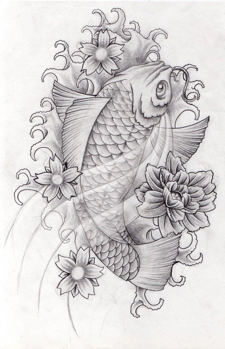 Koi Fish Ponds With Images Koi Tattoo Design Koi Fish Tattoo Leg Tattoos
