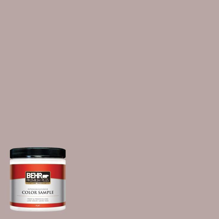 BEHR Premium Plus 8 oz. #750B-4 Prestige Interior/Exterior Paint Sample