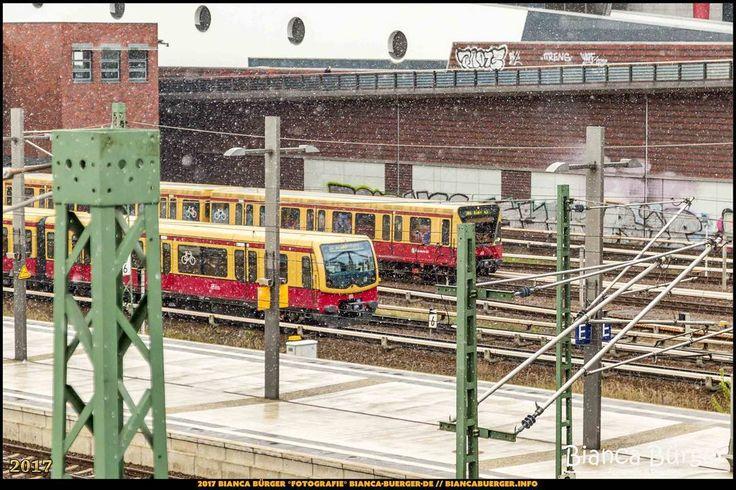 S-Bahnhof Gesundbrunnen bei Schneefall (April 2017) #Gesundbrunnen #Brunnenviertel #Berlin #Deutschland #Germany #biancabuergerphotography #igersgermany #igersberlin #IG_Deutschland #IG_berlincity #ig_germany #shootcamp #pickmotion #berlinbreeze #diewocheaufinstagram #berlingram #visit_berlin #Wedding #Canon #canondeutschland #5diii #Bahnhof #station #SBahn #train #biancabfoco