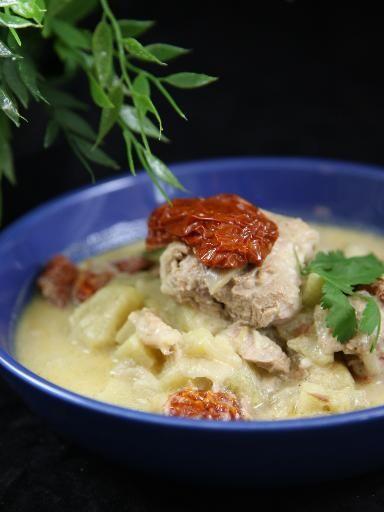 Recette de Filet mignon de porc aux pommes et au cidre brut