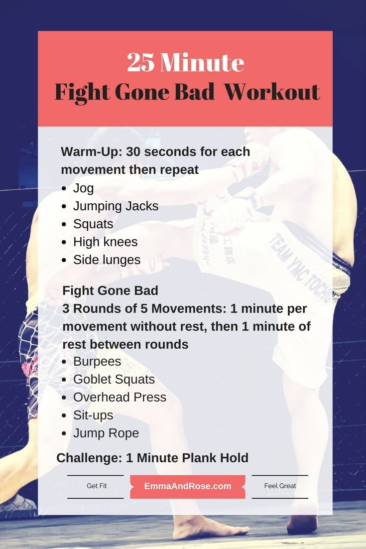 So you made it through the week's first CrossFit themed workout, yes? Give this one a try. It's meant to give you the feeling of being in an MMA fight. So get a towel ready, you will be sweating after you're done. Find this and the rest of the week's workouts at wp.me/p8obDM-57.