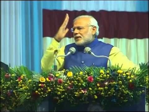 PM's speech at the flagging off of the first train from Mendipathar, Meghalaya to Guwahati Assam - YouTube