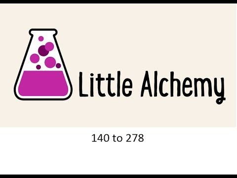 Little Alchemy, from 140 to 278 elements