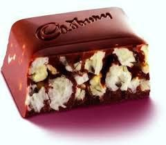 Cadbury Caramel Popcorn Chocolate Bar