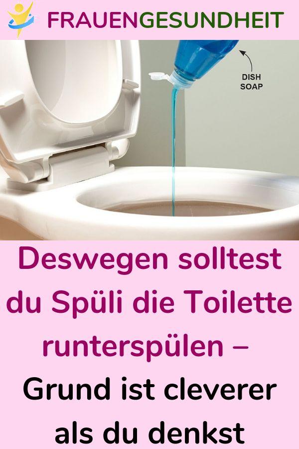Aus diesem Grund sollten Sie Spüli auf die Toilette spülen – der Grund ist klüger als …