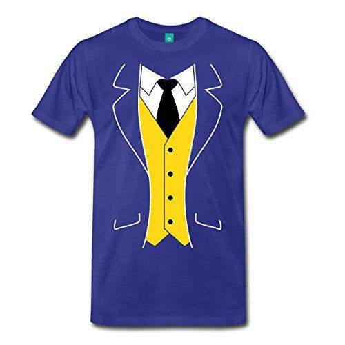 Cool Tuxedo Costume Men's Premium T-Shirt Cute Tatoo Lover T Shirt Men'S Fashion Black Cotton Creative Design