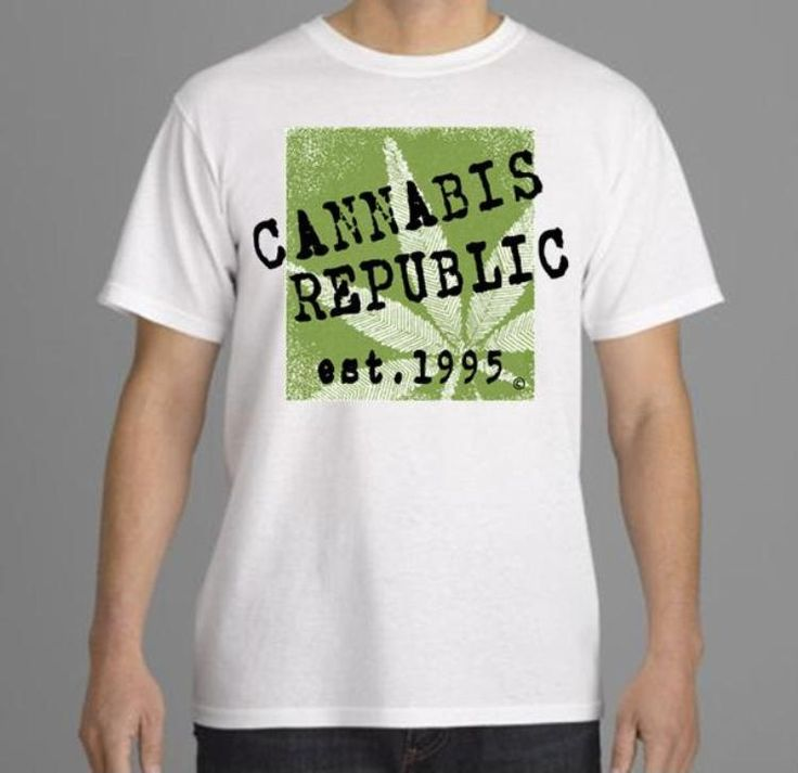 Mens Tshirt-Marijuana Tee-Weed Tshirt, Cannabis, graffiti/hip hop style-white tees, sport gray/athletic gray tshirts (size Sm-3XL) by CannabisRepublicTeez on Etsy