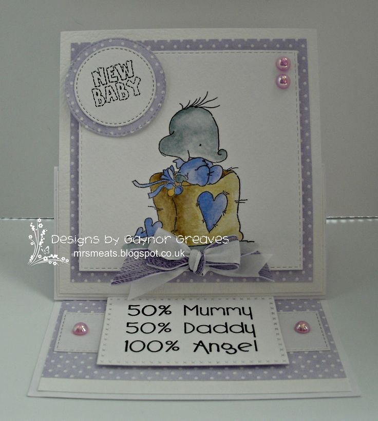 LOTV - Baby Heart with Bonnets and Bowties Paper Pad by Gaynor Greaves