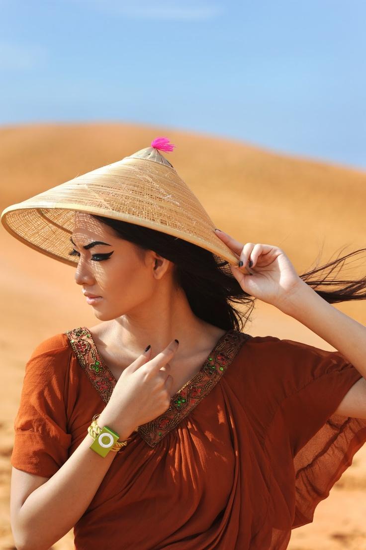 iCreate Indonesia vol. 12 (2009)  Photographed by Timur Angin  Model: Marcella Tanaya  Make up: Philips Kwok  Location: Mui Ne, Vietnam