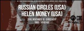 Az Emptiness Booking, a Phoenix Music Hungary és a Dürer Kert bemutatja: Russian…