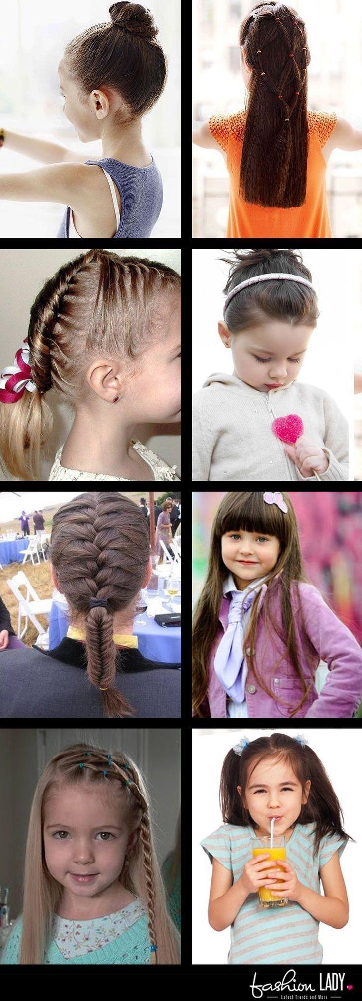 8 superleichte Frisuren für Mädchen - Schritt für Schritt