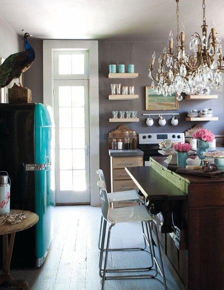 Charming Eclectic Kitchen | photo Björn Wallander | design Annie Brahler  | House & Home