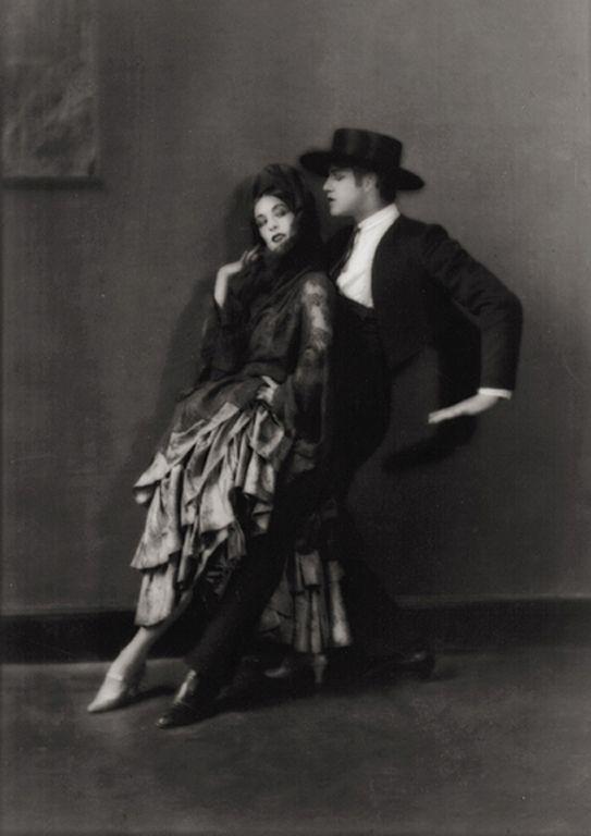 E.O. Hoppé - Martha Graham and Ted Shawn (1922)