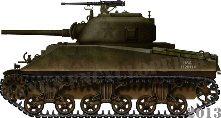 M4 Sherman Wwii Vehicle Color Schemes Pinterest