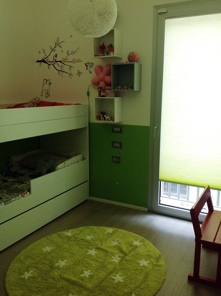 Bunk bed #Avaroom, carpet #lorenacanals, sticker #mimilou, thanks to Aleksandra!