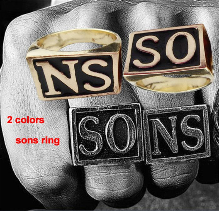 Find More Rings Information about Wholesale Fashion Jewelry Men Rings 2 Pieces Sons Of Anarchy Ring,High Quality ring nail,China jewelry flash Suppliers, Cheap ring size shoe size from Michelle's Showcase on Aliexpress.com