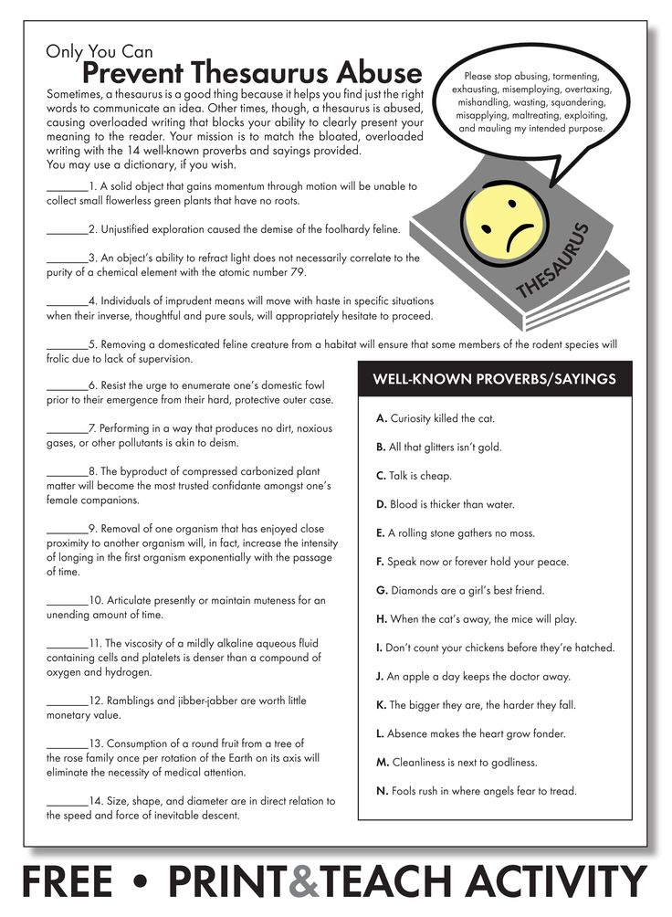 Word Choice Worksheet - Free worksheets library - Download and print