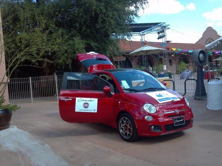 Did you spot our FIAT 500 Sport having a good time down at Sunset Station?!