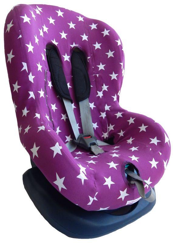 Stoelhoes Ster Paars car seat cover toddler peuter autostoelhoes groep 1(+) zomerhoes 1 + bekleding hoesje hoes bezug ersatz bezug kinder auto housse enfant