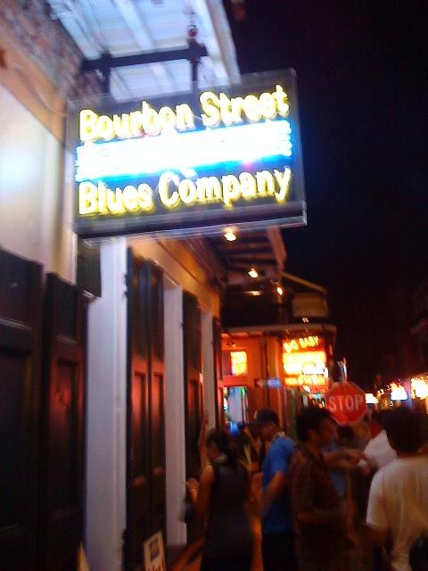 Best ever bar at Bourbon St #WPC09 #NOLA