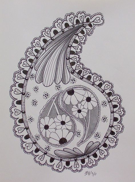 paisley by Ellen Wolters NL, via Flickr