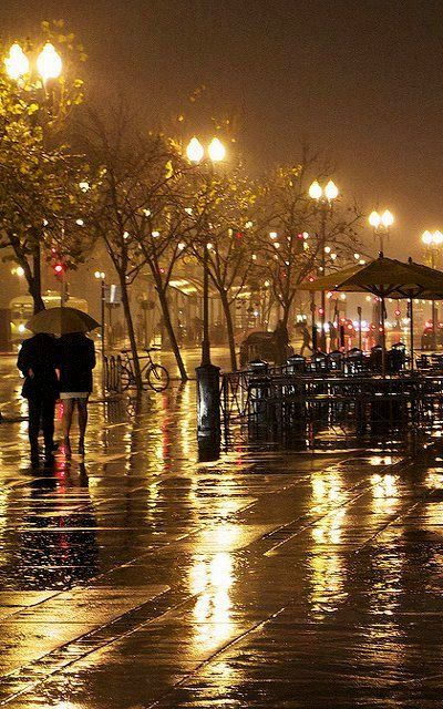 winter rain.. Ferry Plaza, San Francisco, California | Flickr - Photo by Oakjack