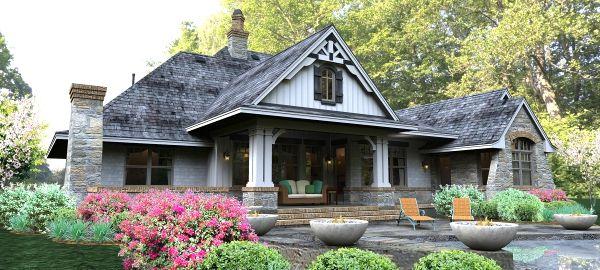 8 best cottage house plans images on pinterest craftsman for Houseplans bhg com
