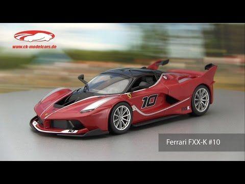 ck-modelcars-video: Ferrari FXX-K #10 Bburago - YouTube